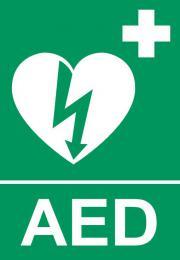 Tabulka AED srdce