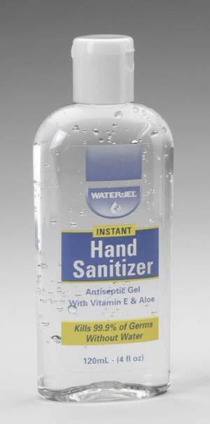 WATER-JEL Hand Sanitizer 120ml - desinfekce rukou