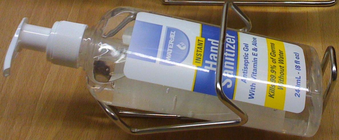 WATER-JEL Stojánek pro Hand Sanitizer 240ml