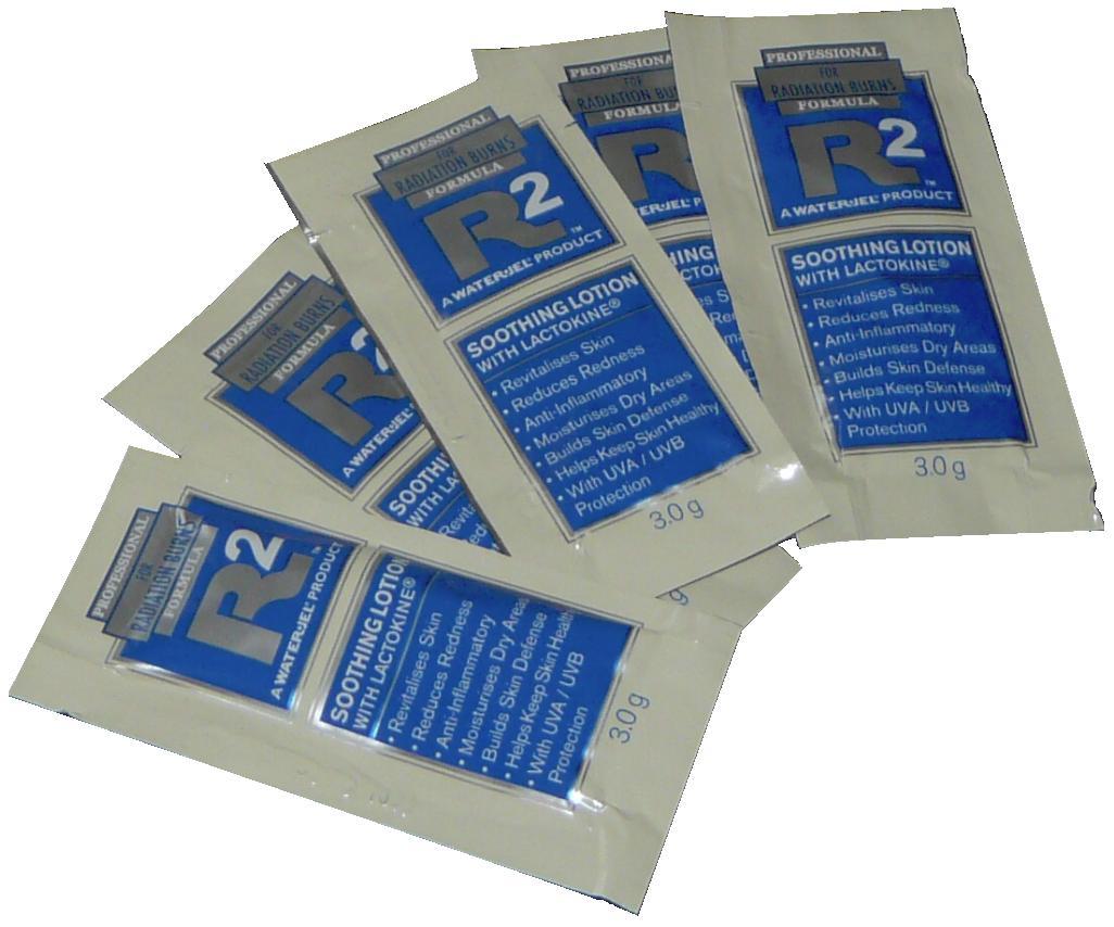 WATER-JEL WATER JEL R2 168 kusů - zklidňující emulze na postradiační reakce