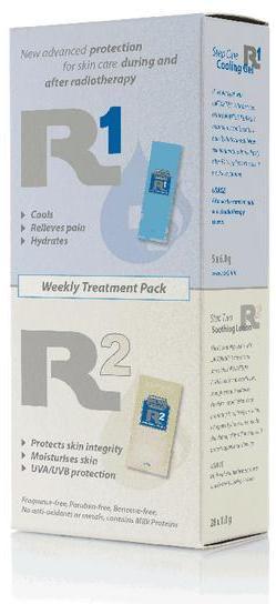 WATER-JEL WATER JEL R1 a R2 Týdenní balení - ošetření postradiační reakce kůže