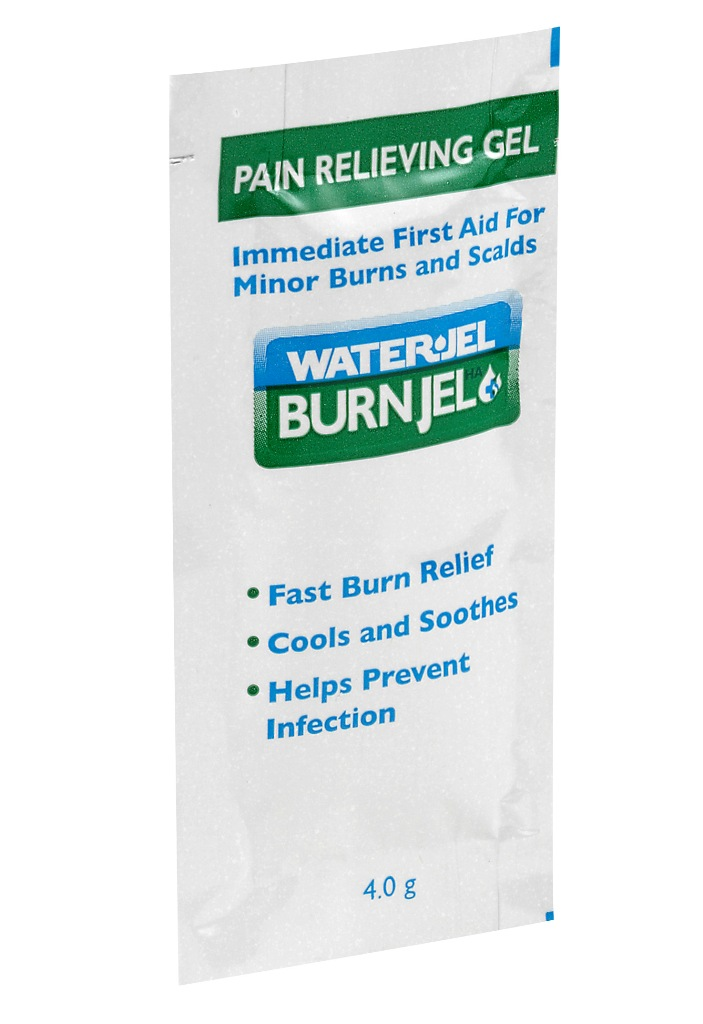 WATER-JEL Burn Jel BJ640 (6x4g - sáčky) chladící gel na popáleniny