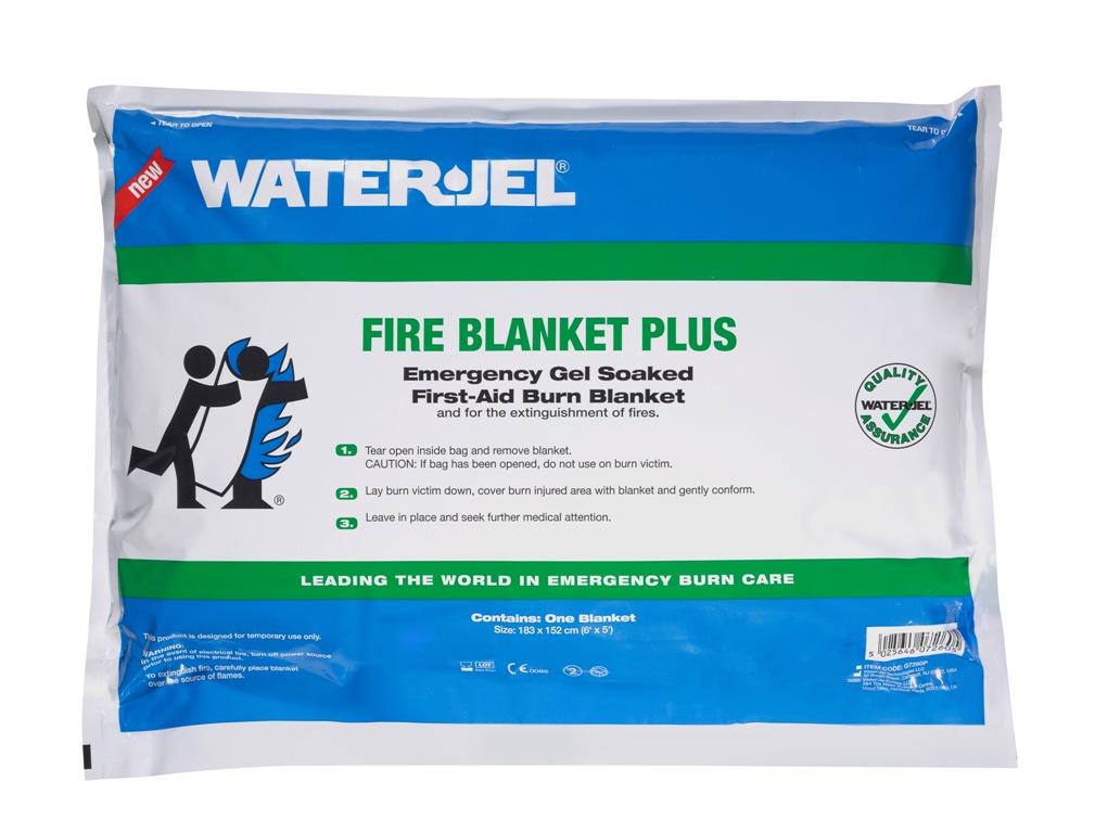 WATER-JEL WATER JEL P7260 (183x152cm - fólie) popáleninová přikrývka